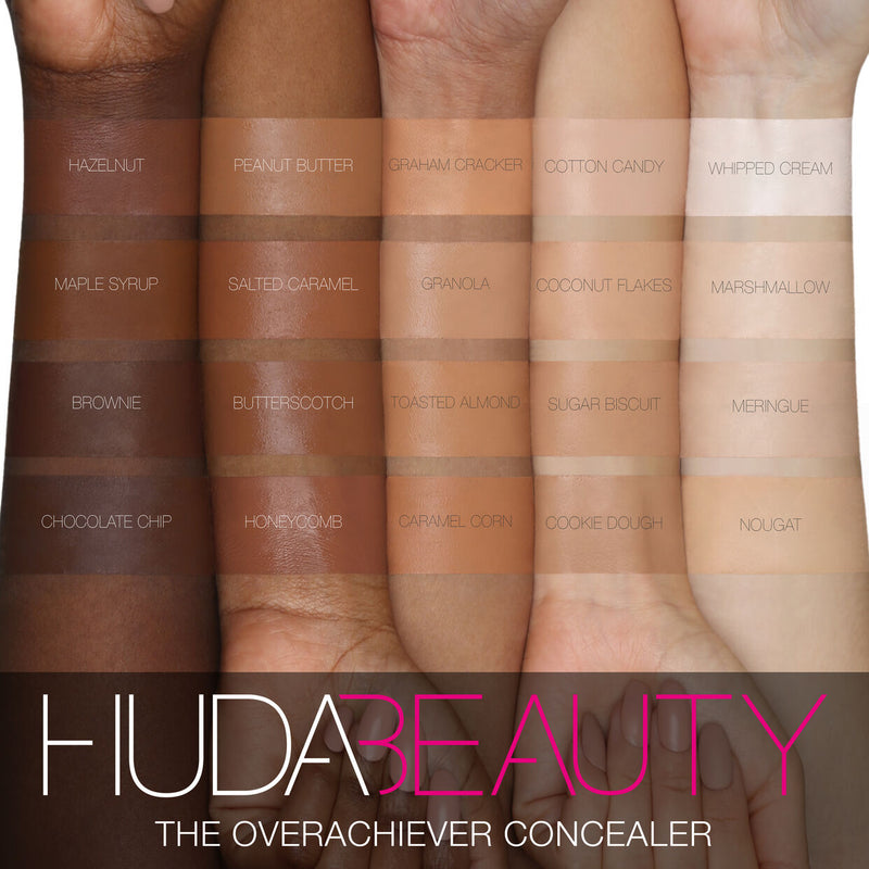 HudaBeauty The Overachiever Concealer Coconut Flakes 10N - 10 ML