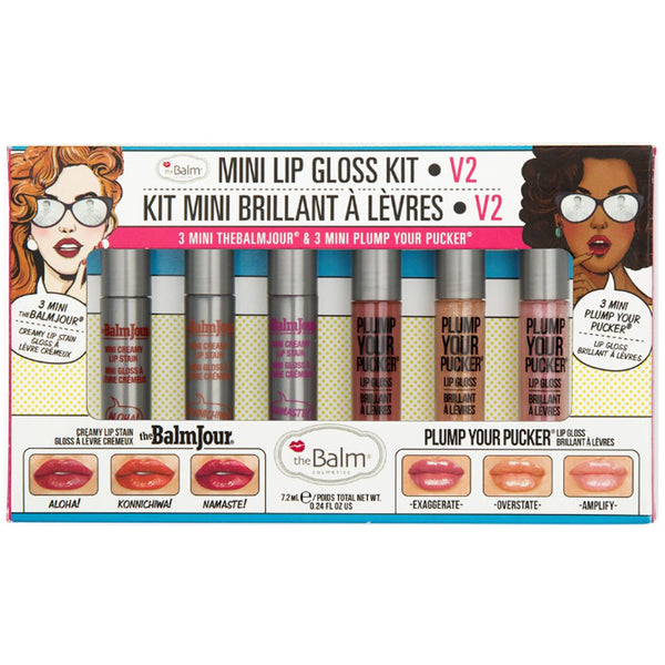 the Balm MINI LIP GLOSS KIT VOL. 2