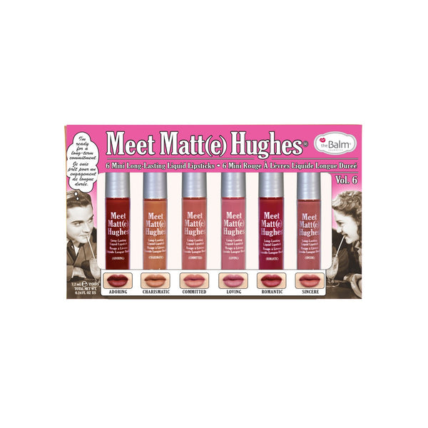The Balm Meet Matt Hughes 6 Mini Long Lasting Liquid Lipsticks vol. 6
