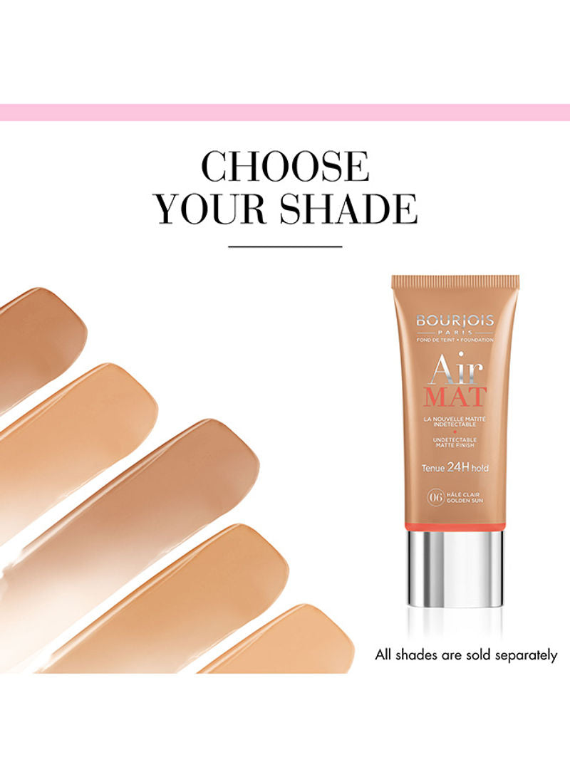 BOURJOIS PARIS Air Mat 24H Foundation 30 ml 06 Golden Sun