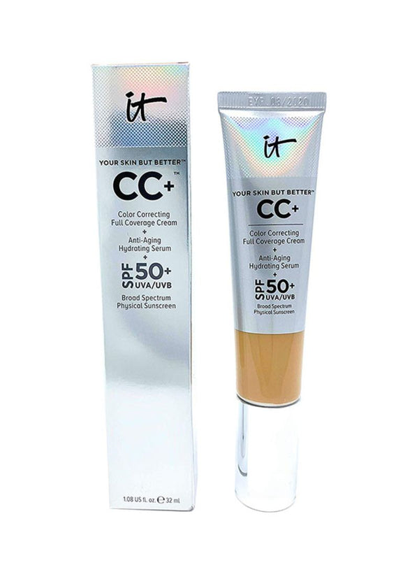 IT COSMETICS Oil Free CC+ Cream SPF 50 Neutral Tan - 32 ml