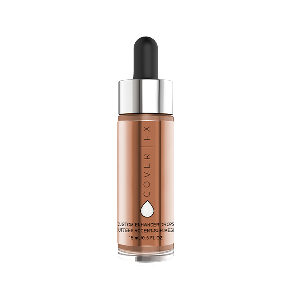 coverfx - custom enhancer drops 15ml - rose gold
