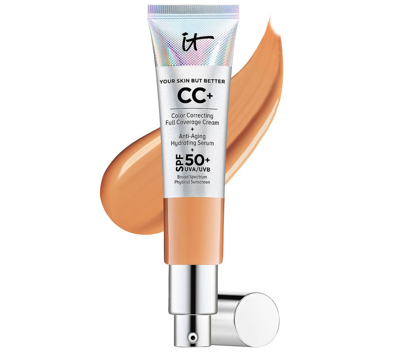 IT COSMETICS Your Skin But Better CC+ Cream with SPF 50+ tan - 12 ml