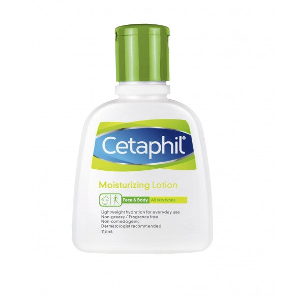 Cetaphil Moisturizing Lotion for All Skin Types 118ml