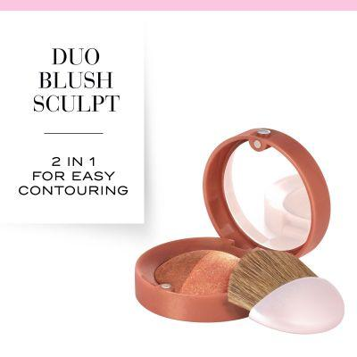 Duo Blush Sculpt - 02 Romأ©o Et Peachette