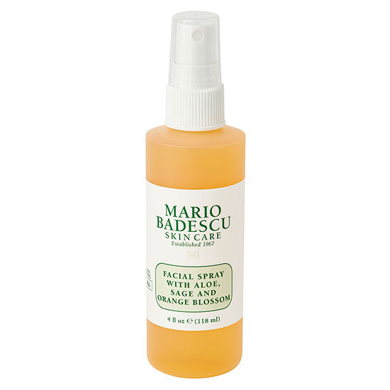 FACIAL SPRAY WITH ALOE, SAGE AND ORANGE BLOSSOM -118 ml