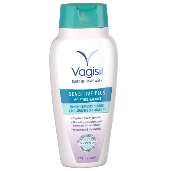 Vagisil Sensitive Plus Wash - 12 fl oz 354 ml