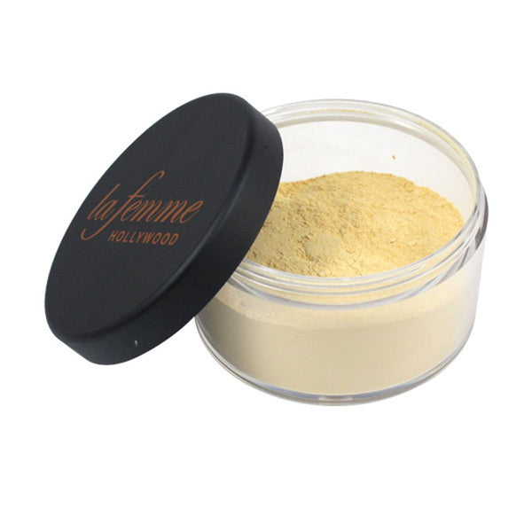 La Femme Hollywood Usa Velvet Touch Loose Powder banana