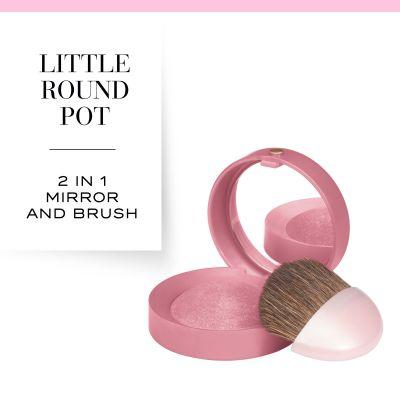 Bourjois Little Round Pot Blusher - 48 Cendre De Rose Brune