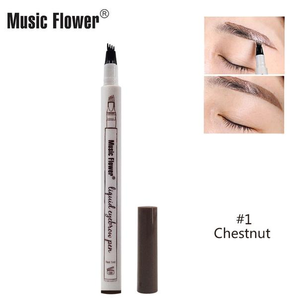 Music Flower Patented Microblading Eyebrow Tattoo Pen -  01 chestnut