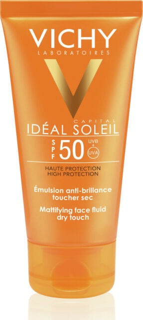 Vichy Capital Soleil Mattifying Face Fluid Dry Touch SPF 50 ( Combination to Oily Skin) 50ml
