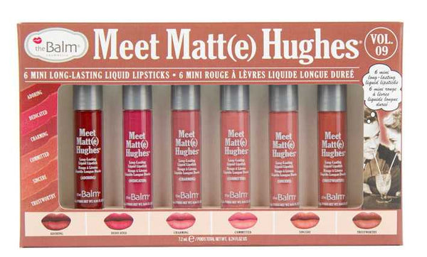 the Balm Meet Matt(e) Hughes 6 Mini Liquid Lipsticks vol.9