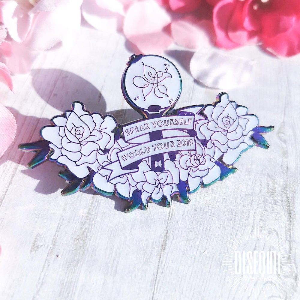[ speak yourself tour pin : normal ]