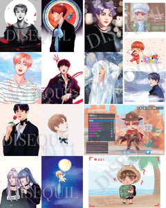 BTS Mini Prints