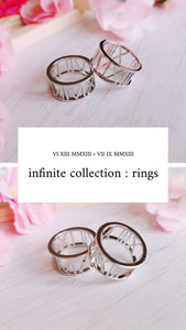 infinite collection : rings [ PRE-ORDER ]