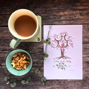 Home Sweet Home, Happy New Home Gift - The Illustrated Tree Co