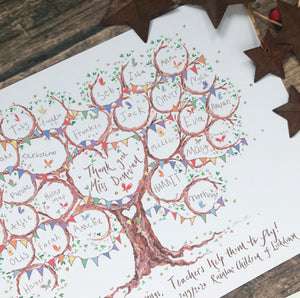 Butterfly Class Teacher Gift - The Illustrated Tree Co