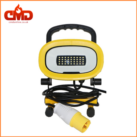 110v Handheld Portable LED Site Light - 18w - IP54 - CMD Online