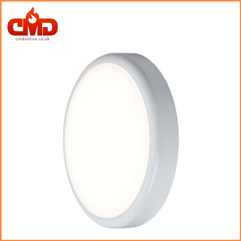 LED POLO Slimline Fitting 12.5W White Base /White Trim 4000K - CMD Online