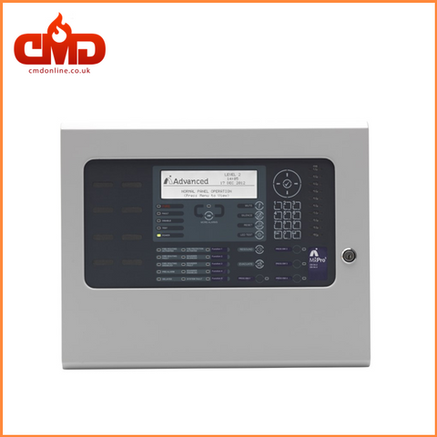 2 Loop Fire Control Panel Analogue Addressable - MxPro 5 Advanced Electronics - CMD Online