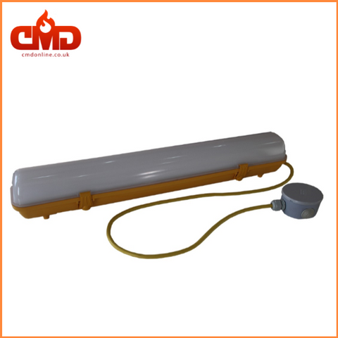 2ft 20w LED 110V Non-Corrosive Fitting - IP65 c/w 1m flex. - CMD Online