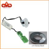 8w LED Fire Rated Downlight - Choice of Bezel - Dimmable - Low Profile - CMD Online