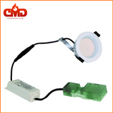 8w LED Fire Rated Downlights - White Bezel - Dimmable - CMD Online