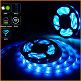 Smart WiFi Colour Changing LED RGB Tape Kit - SHA5212 or SHA5213 - 5m IP65 Plug n Play - CMD Online