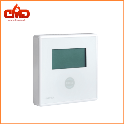 DETA 1142 Carbon Dioxide and Temperature Monitor - CO2 Detector Alarm - CMD Online