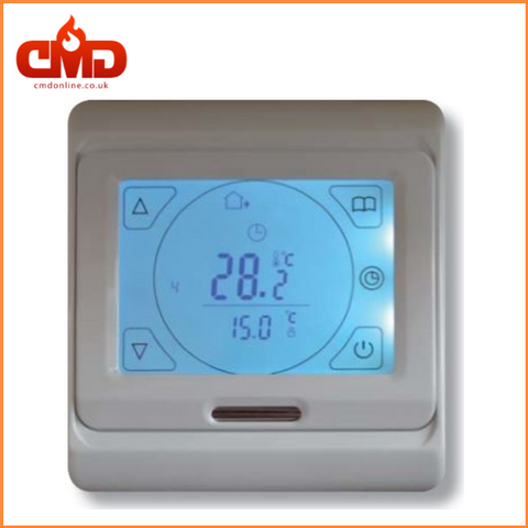 Underfloor Heating LED Touchscreen Thermostat - UltraWarm - CMD Online