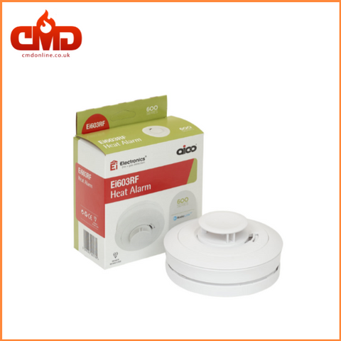 Ei603RF Heat Alarm - RadioLINK+ Lithium Battery - CMD Online