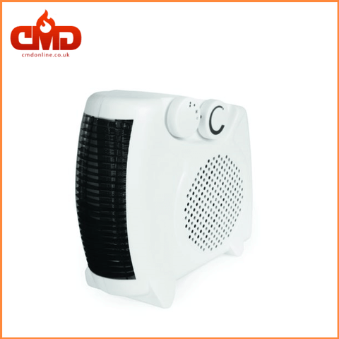 2kW Fan Heater for Domestic and Small Commercial Rooms - 2 Heat Levels - CMD Online