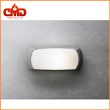 Outdoor Wall Light - Fumagalli Francy Open / Opal LED Bulkhead for Indoor and Outdoor use. Grey Body - CMD Online