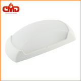 Outdoor Wall Light - Fumagalli Francy Open / Opal LED Bulkhead for Indoor and Outdoor use. White Body - CMD Online
