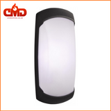 Outdoor Wall Light - Fumagalli Francy Open / Opal LED Bulkhead for Indoor and Outdoor use. Black Body - CMD Online