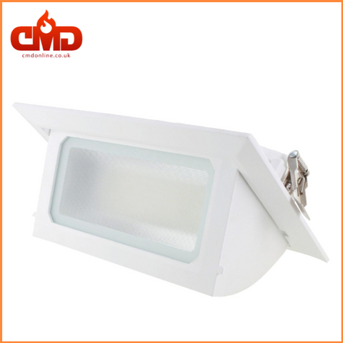 LED Rectangular Wallwasher Shoplight 30w - IP40 - CMD Online