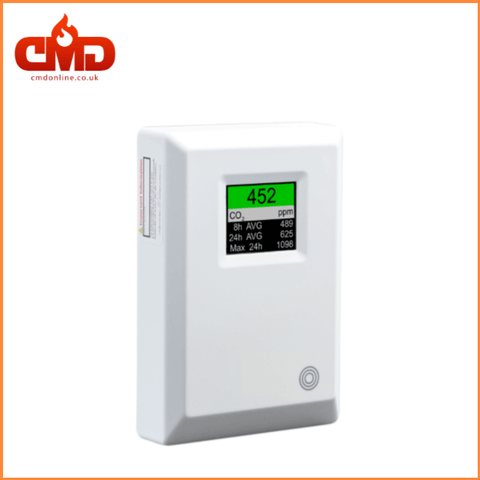 Carbon Dioxide Monitor CO2 Detector Alarm - Mains Powered - MERLIN CO2 AVG - CMD Online