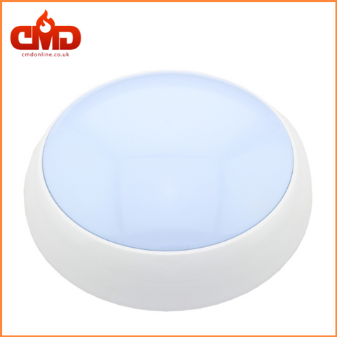 Empty Body Circular Polo Bulkhead - POLB8 - Suitable for E8LED Tray - CMD Online