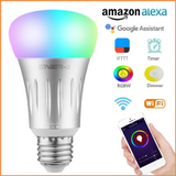 Wifi Smart LED Bulbs 6W E27 RGB + White - SHA5203-27