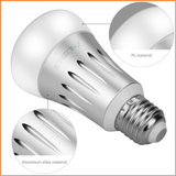 Wifi Smart LED Bulbs 6W E27 RGB + White - SHA5203-27 - Close Up