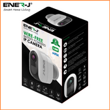 Smart WiFi Battery IP Camera 1080P With 4 Pcs AA Battery - SHA5291 - CMD Online