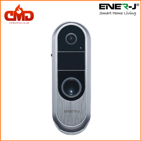Video Door Bell - Slimline Wireless With Night Vision And 2 Way Audio - SHA5289 - CMD Online