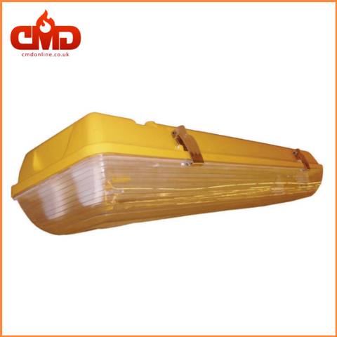 Non Corrosive Fittings 2 x 18w 110v Yellow NCF - WF218SV and EWF218SV - CMD Online