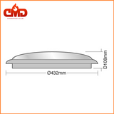 Wilson Round Bulkheads 28w or 38w - Emergency Option - CMD Online