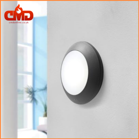 Round LED Bulkhead Outdoor Wall Light - Fumagalli Bertina - CMD Online