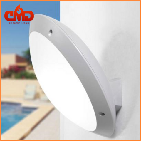 Tilted Round LED Bulkhead Outdoor Wall Light - Fumagalli Lucia - CMD Online