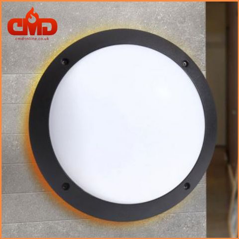 Round LED Bulkhead Outdoor Wall Light - Fumagalli Lucia - CMD Online