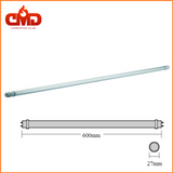 T8 LED Tubes - 2ft, 3ft, 4ft, 5ft Red Arrow - 25 Pack - CMD Online