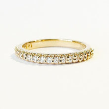 Load image into Gallery viewer, Yellow Gold 1/2 ct tw Lab Grown Diamond Band