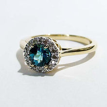 Load image into Gallery viewer, London Blue Topaz Ring